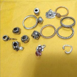 All charms and rings